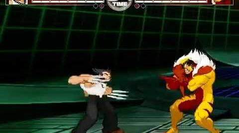 MUGEN Claws Clash - Logan vs Sabretooth