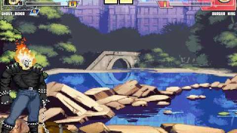Mugen - Ghost Rider Vs The Burger King