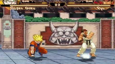 Mugen Goku vs Ryu
