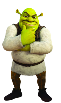 Shrek transparent