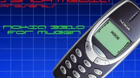 Mugen character showcase Nokia 3310