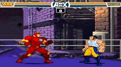 Avengers vs X-Men MUGEN 1080P HD Playthrough with IRONMAN PT