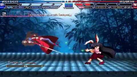 Smoke072's Mugen Reisen vs Asuna
