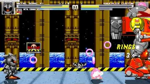 Sonic Vs Silver Sonic and opponents, and Tails doll and Death Egg vs opponents