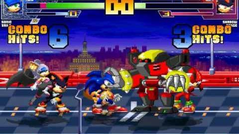 ST64 MUGEN Team Sonic vs Team Dark
