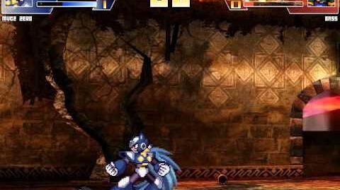 Random Mugen Battle- MVC 2 Zero vs. Bass