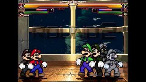 M.U.G.E.N Team Mario vs