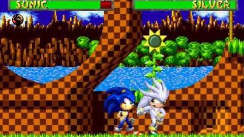 TWK's MUGEN Sonic(Me) VS Silver