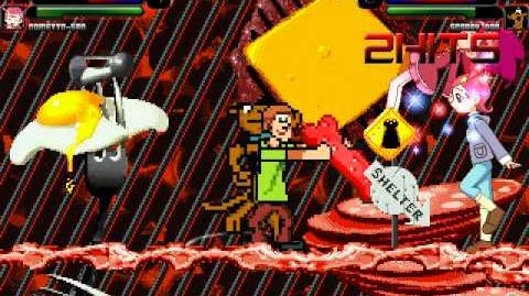 MUGEN Episode 171 Fine & Cometto-San vs Shaggy & Scooby-Doo