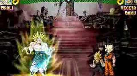 Mugen Broly vs Goku & Vegeta