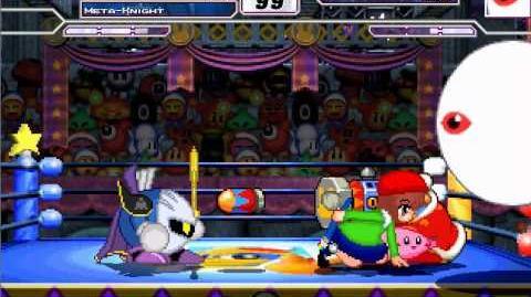 Mugen Rerequest Kirby, meta knight, King dedede and ado vs zero