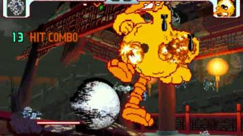 MUGEN Death Star vs Big Bird