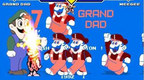 Mugen Request Grand Dad vs Weegee