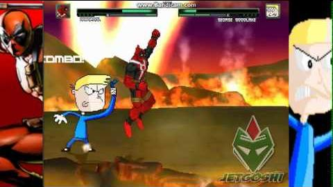 JetG Mugen Deadpool vs George Goodlake