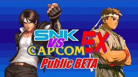 SNK vs Capcom EX Public BETA Released!