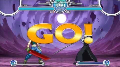 Cloud Strife vs. Sephiroth (Mugen 1