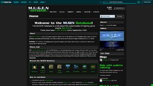 MUGEN Database Front Page