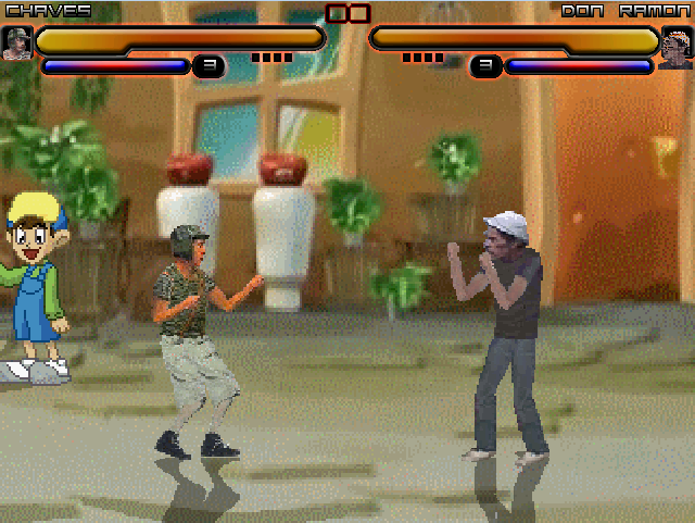 El Chavo vs. Don Ramón