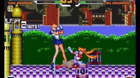 Mugen - Super Sailor Moon vs Sailor Uranus