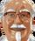 Colonel Sanders/Peg's version