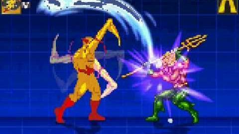 MUGEN Flash Vs Aquaman
