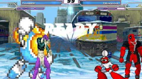 MUGEN ioro y twinbee vs cutman y deadpool