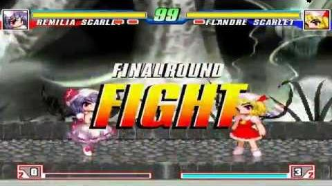 BTW MUGEN All-Stars 177 - Remilia Scarlet(me) vs