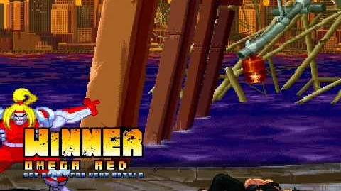 MUGEN Omega Red vs