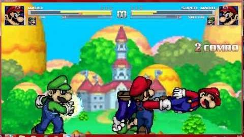 Mugen ShinRyoga & NeOaNkH's Mario Bros vs SM853's Mario Bros