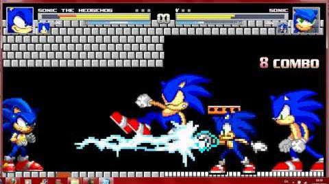 Mugen Sonic Battle 1