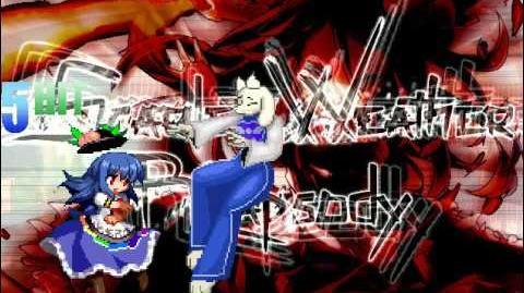 MUGEN Tenshi (me) vs Toriel