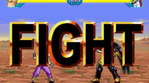 Tall Paul Mugen 49 Gohan vs Perfect Cell