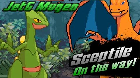 JetG Mugen Sceptile on the way