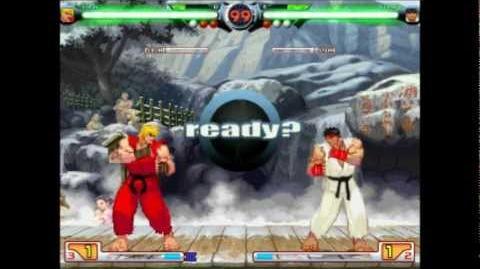MUGEN SF3 Ken (Me) vs