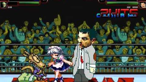 TheMattalocalypse Random Mugen Battle - 093 - Rocko & Zim VS. Sakuya & Mr