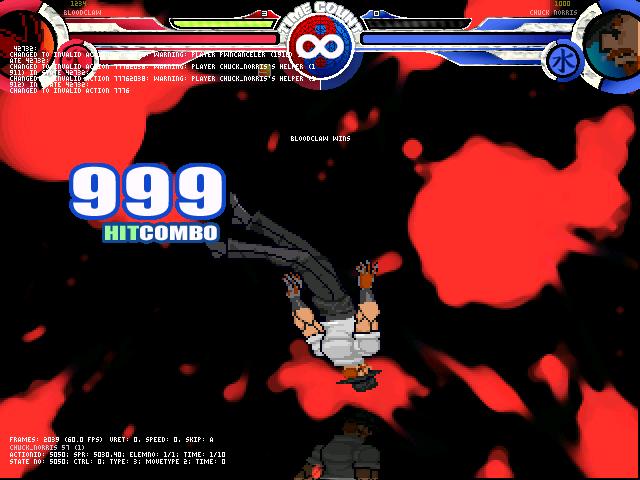 User blog:Black Kyurem/Chuck Norris Defeated      MUGEN