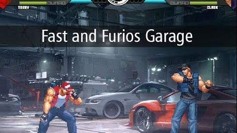 KOF MUGEN FAST AND FURIOUS GARAGE