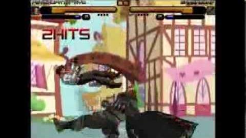 Mugen Psychopath Kyo VS Ganondorf
