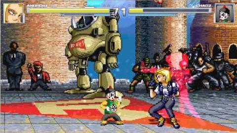 MUGEN Random Battle- Android 18 Vs Chiaotzu