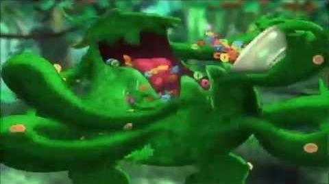 Alien Fruit Monster Poops the Loop