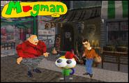 52-Mugman dans 3D Movie Maker