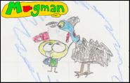 45-Un dessin de Mugman avec Sunshine