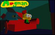 59-Mugman regarde la télé avec Sunshine (Mugman 64)