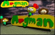 97-C'est lui, Mugman en 3D avec ses amis
