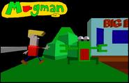 82-Mugman en train de jouer à son jeu vidéo
