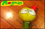 21-Une poupée Mugman Fait maison