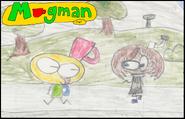 44-Un dessin de Mugman avec Pementa