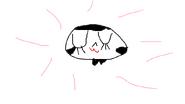 Muglita's cheerful smile