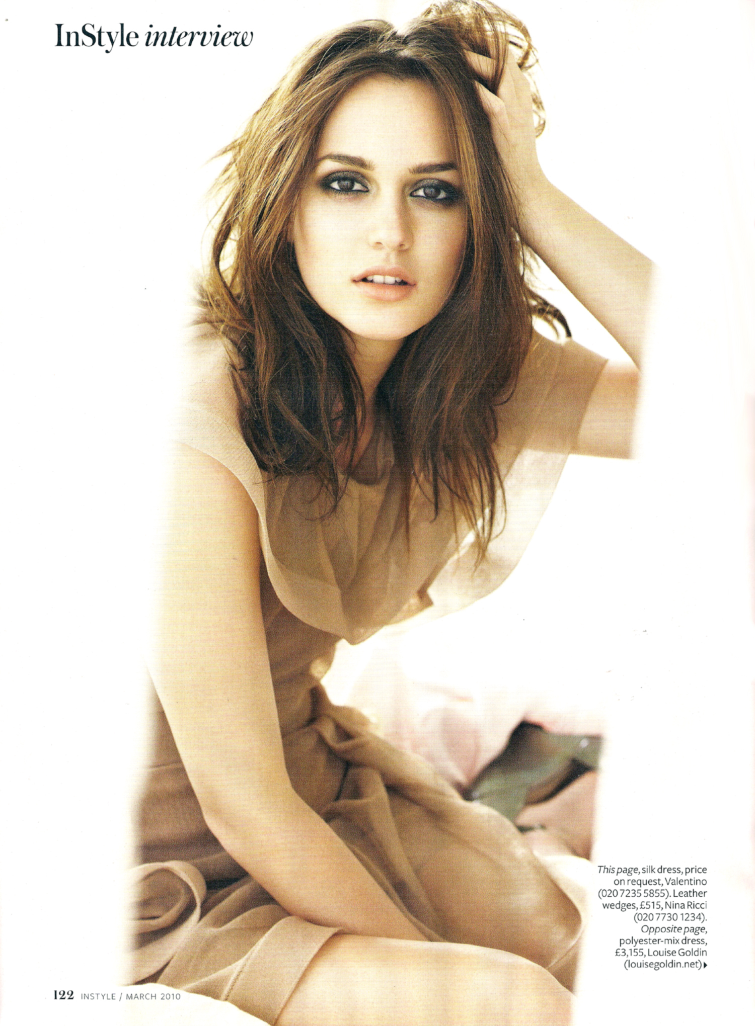 Imagen - Instyle-UK-March-2010-Leighton-Meester-Magazine ...