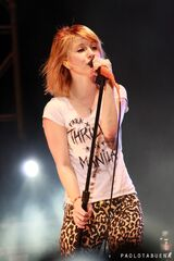 Paramore Hayley Williams II by sy